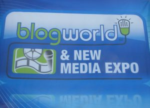 Attending the Blog World & New Media Expo