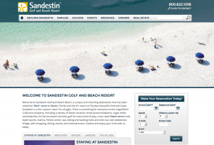 SEO strategy for Sandestin Beach Golf Resort