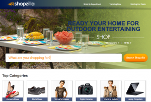 Global SEO strategy for online comparison shopping site shopzilla