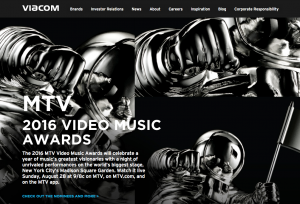 SEO strategy for global media company viacom